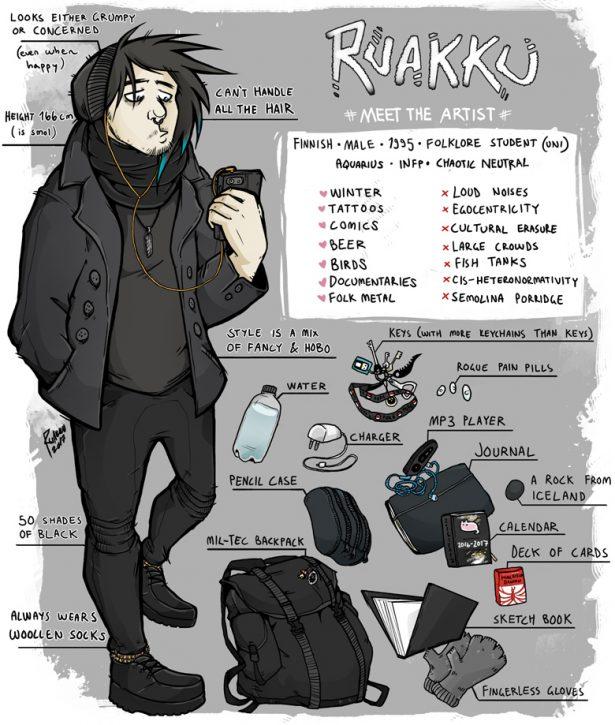 meet the artist ruakkuh